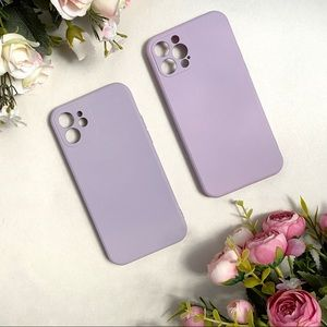 Lavender Silicone IPhone 12 and 12 Pro Case NWOT
